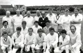 MHA404 1984 Seavington Cricket Team