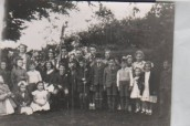 VJA546 1949 May Day - May King Ronald Hopkins May Queen April McTurk