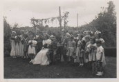 VJA548 1951 May Day - May King John James,May Queen Jeannette Manners