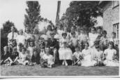 AND007 1956 Mayday May King David Swain, May Queen Barbara Scott