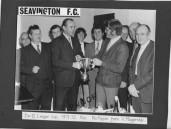 ASH796  1971-72  SEAVINGTON FC  DIV. 11 CUP PRESENTATION.