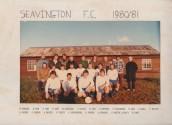 ASH799 1980-81  SEAVINGTON FC
