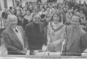 C&I396 1998 Opening of Village Hall - taken from the Chard & Ilminster News