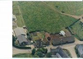 DFR466 Aerial picture of Middlefield Barn
