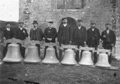 KGU745  Bellringers at St Mary's