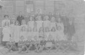 MPA184  1907 Seavington schoolchildren
