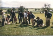 PPR573 Queen Elizabeth II Silver Jubilee - Sack Race