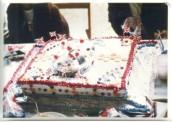 PPR575 1977 Queen Elizabeth II Silver Jubilee - Cake