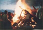 PPR576 1977 Queen Elizabeth II Silver Jubilee - Bonfire
