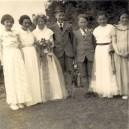PWI319 May Day 1955 Veronica Sills, Julie Wills, Pamela Manners, Melvyn Bool, John Callow, Christine Coveney, Wendy Swain