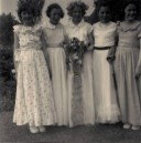 PWI321 May Day 1955 - Veronica Sills, Julie Wills, Pamela Manners, Christine Coveney, Wendy Swain