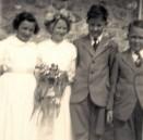PWI322 May Day 1955 - Julie Wills, Pamela manners, Melvyn Bool, John Callow