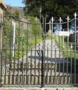 SWM345 St Michael's Church gate 2011