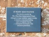 SWM359 St Mary's plaque