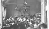 V&E342 1905 Church education - the Rector visiting Seavington St. Michael school