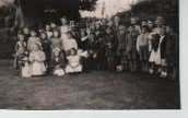 VJA541 1949 May Day - May King Ronald Hopkins, May Queen April McTurk