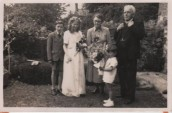 VJA543 1951 May Day - May King John James, May Queen Jeanette Manners