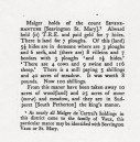 SWM 327 Translation of Domesday Book entry for Seavington St. Mary